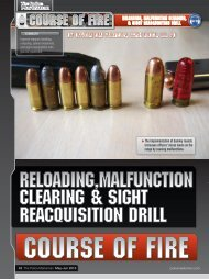 Reloading,Malfunction Clearing & Sight Reacquisition Drill