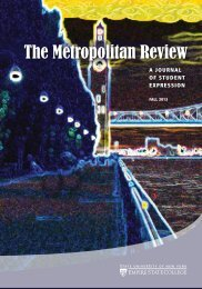 Metropolitan Review Fall 2013 - SUNY Empire State College