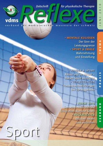 Reflexe Ausgabe Juni 2010 - vdms