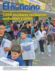 3.000 escolares recibieron uniformes y útiles - Municipalidad de ...