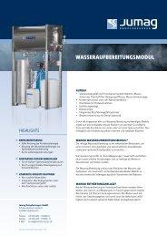 WAsserAufbereitungsmodul - Jumag Dampferzeuger GmbH