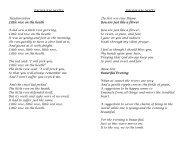 Vocal Student Recital Insert Program Example