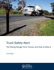 Truck Safety Alert: Rising Danger from Trucks and How to Stop It