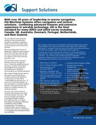 Download PDF Brochure - OSI Maritime Systems