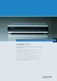 Datenblatt 1781EF+ (PDF) - paste IT