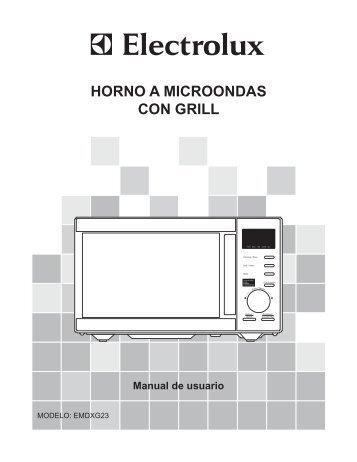 HORNO A MICROONDAS CON GRILL - Electrolux