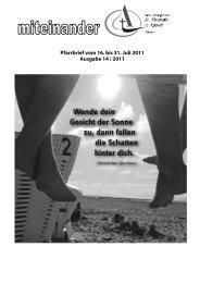 Pfarrbrief Nr. 2011-14 - Kath-Rastatt