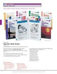 Specific Skill Series - McGraw-Hill Ryerson
