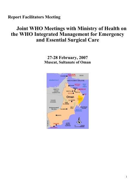 Sultanate of Oman - World Health Organization