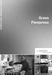 7. operating the flexipress - Grass