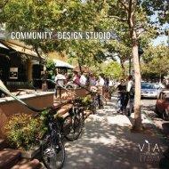 COMMUNITY DESIGN STUDIO - VIA Architecture