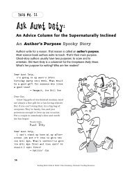 Ask Aunt Doty: