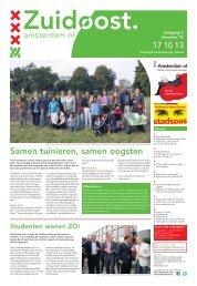Nummer 18 - Stadsdeel Zuidoost - Gemeente Amsterdam