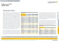 Marktüberblick - Commerzbank AG