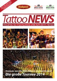 Tattoo News 2013 - Musikparade
