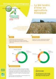 Le blé tendre d'hiver en agriculture biologique - Chambres d ...