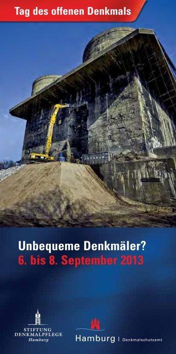 Tag des offenen Denkmals - Stiftung Denkmalpflege Hamburg