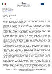 Roma, 25 febbraio 2011 prot.: 26/11 Caro Presidente, ho il piacere ...