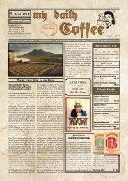 my Daily Coffee - Espresso Kaffeebohnen