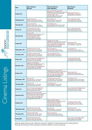 Cinema Listings - Philenews.com