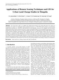 Urban Land Cover, Change Analysis, RS, GIS, Classification