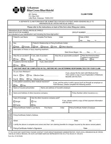 Basicblue change request form for current policy arkansas blue claim form arkansas blue cross and blue shield malvernweather Gallery