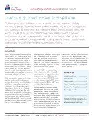 USDEC Dairy Import Demand Index April 2013 - US Dairy Export ...