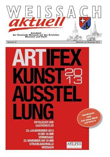 Ausgabe KW 47/2013 - Weissach