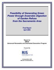 Feasibility of Generating Green Power through Anaerobic Digestion ...