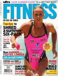 SHRED a summer SIX-PACK - Ultra Fit Magazine