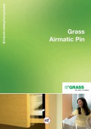 Grass Airmatic Pin