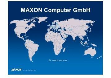 MAXON Computer GmbH - Digital Media
