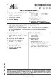 GESINTERTES VERZAHNUNGSELEMENT MIT ... - Patent data