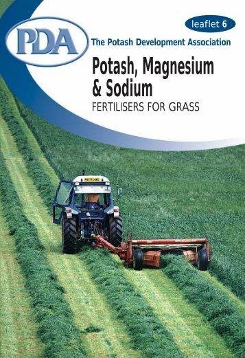 6. Potash, Magnesium & Sodium
