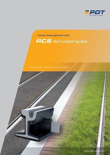 RCS Rail Comfort System (PDF | EN | 1.8 MB - PDT Profiles