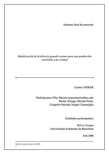 Informe técnico final ALISOS - Nasdap.ejgv.euskadi.net