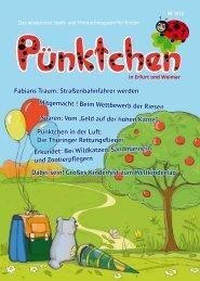 Ausgabe Erfurt und Weimar 03/13 - magazin-puenktchen.de