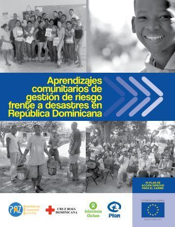 comunitarios de Aprendizajes gestión de riesgo frente a desastres ...