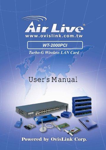 AirLive MU-7000AVs NDAS Drivers for Mac Download