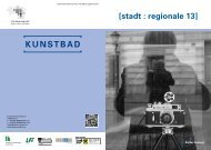 [stadt : regionale 13]/Einladung - Steiermarkhof