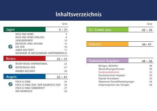 Techn. Daten - Paul Parey Zeitschriftenverlag