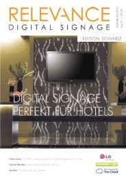 hotel - screenIMAGE Systems AG