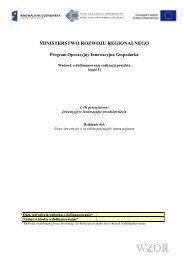 Wniosek o dofinansowanie 4.4 POIG