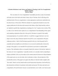 1 A Patristic Reflection on the Nature and Method of Theology in the ...