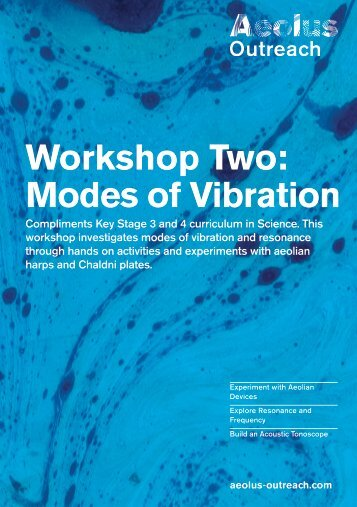 Workshop Two: Modes of Vibration - Aeolus Outreach