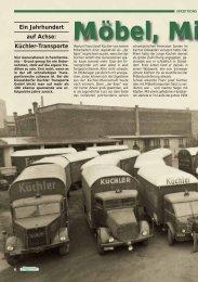 Ein Jahrhundert auf Achse - KÜCHLER Transporte GmbH