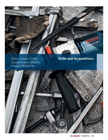 Drills and Screwdrivers Drills, Impact Drills ... - Allfix Fasteners