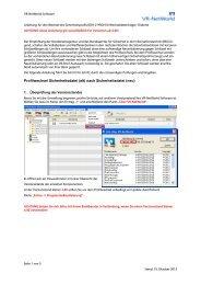 VR-NetWorld Software - MKB Mittelstandskreditbank AG