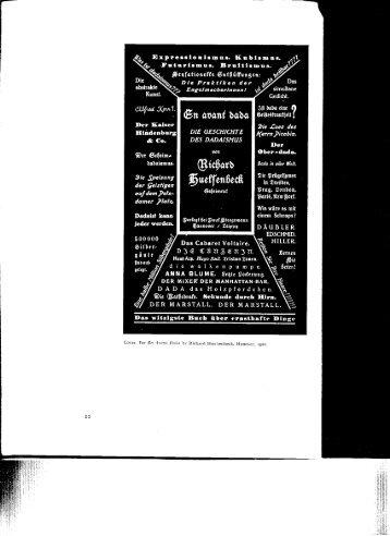 Huelsenbeck, En Avant Dada (PDF)