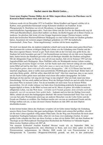 ausfhrlicher lebenslauf von thomas mller pdf katholische - Lebenslauf Ausfuhrlich